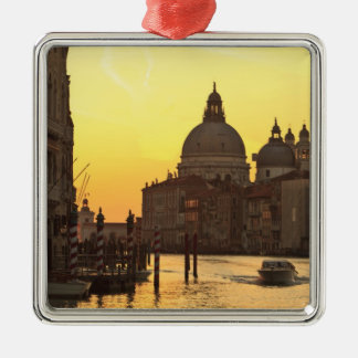 Sunrise sky colors near San Maria Del Giglio Christmas Ornament