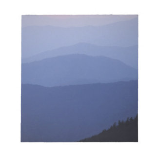 Sunrise, Southern Appalachian Mountains, Great Notepad