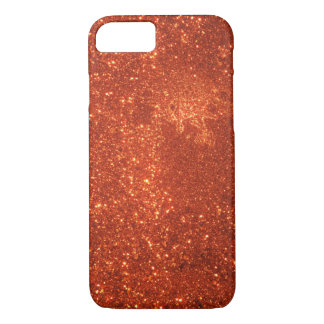 Sunrise sparkle, natural glitter frost iPhone 8/7 case