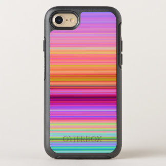 Sunrise stripes OtterBox symmetry iPhone 7 case