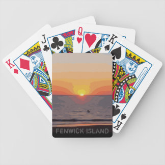 SUNRISE-SUNSET BICYCLE PLAYING CARDS
