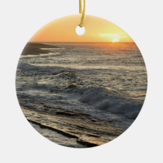 Sunrise Sunset Christmas Ornament