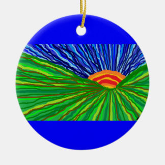 Sunrise/Sunset Christmas Ornament