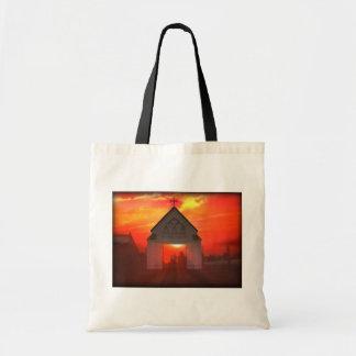 Sunrise/Sunset Church Budget Tote Bag