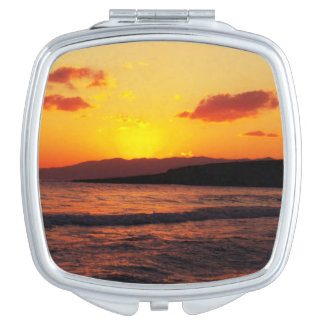 Sunrise Sunset Holiday Travel Mirror For Makeup