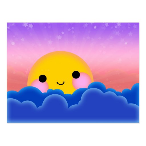 Sunrise Sunset Post Card