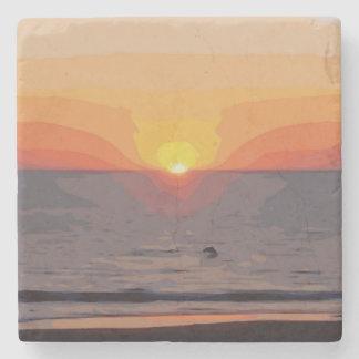 SUNRISE-SUNSET STONE COASTER