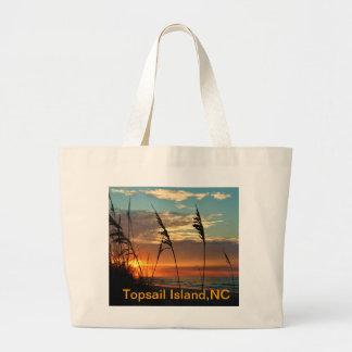 Sunrise Through the Dunes Jumbo Tote Bag