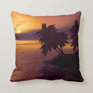 Sunrise throw cushion