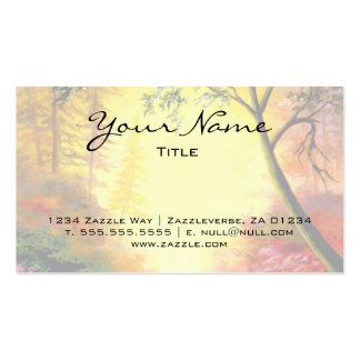 Sunrise Trail Pack Of Standard Business Cards