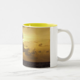 Sunrise Two-Tone Coffee Mug