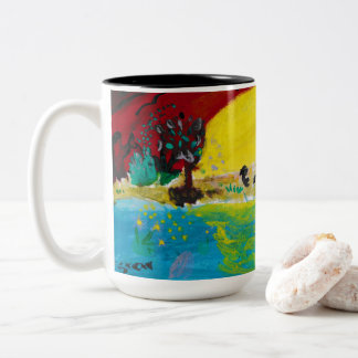 Sunrise Two-Tone Coffee Mug