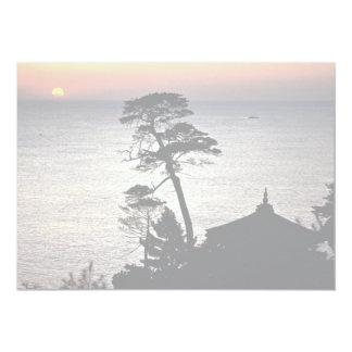 Sunrise, Uisangdae Pavilion, Naksansa (temple) Card