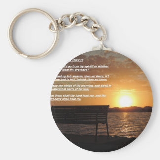 sunrise with bible verse keychains