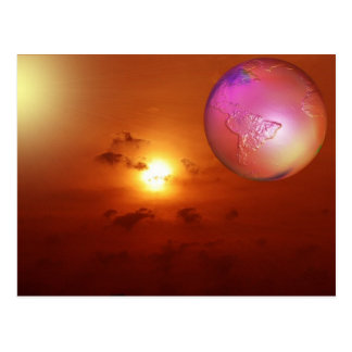 sunrise with psp post card