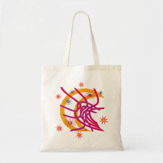 Suns and Moon Budget Tote Bag