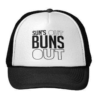 Sun's out Buns out Cap