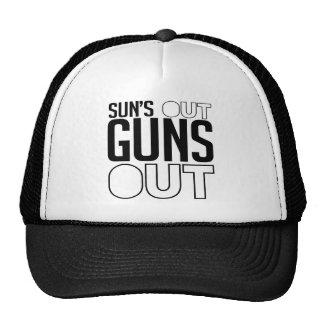 Sun's out Guns out Cap