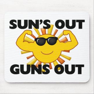 Sun's Out Guns Out Mouse Mat