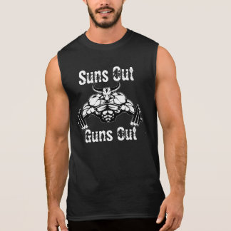 Suns Out Guns Out Muscle Shirt