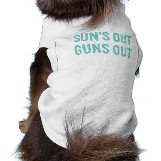 Suns Out Guns Out Sky Shirt