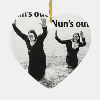 Suns out Nuns out Christmas Ornament
