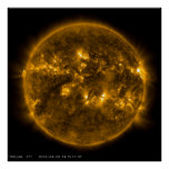 Sun's Quiet Corona Poster