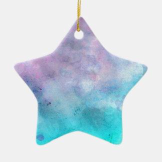 Sun's Rays Ceramic Star Decoration