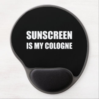 Sunscreen Cologne Gel Mouse Pad