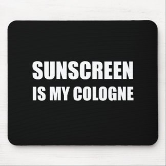 Sunscreen Cologne Mouse Pad