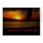 sunset グリーティング・カード