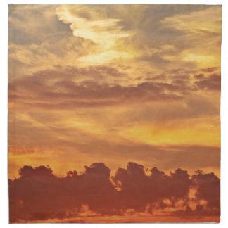 sunset-1643705 napkin