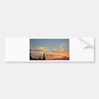 sunset-1643769 bumper sticker