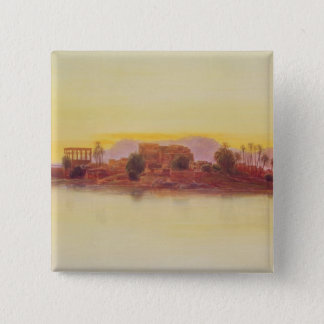 Sunset, 1861 (panel) 15 cm square badge