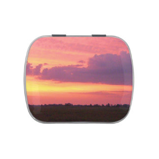 Sunset 2004 jelly belly tin