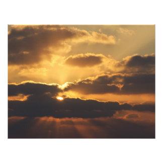 Sunset 21.5 Cm X 28 Cm Flyer