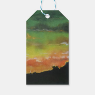 Sunset 2 Gift Tags