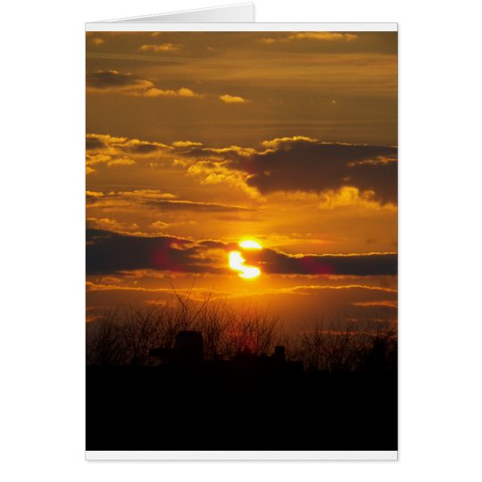 Sunset 5 card