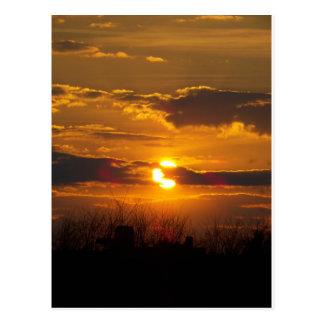 Sunset 5 post card