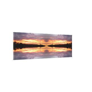 Sunset 680 Fractal Canvas