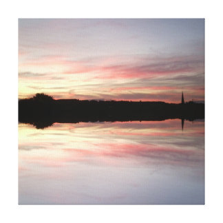 Sunset 724 Mirror / Reflection Canvas