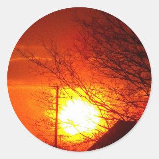 Sunset 7 stickers