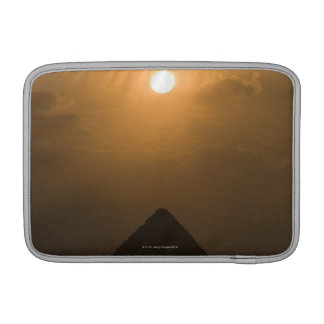 Sunset above The Great Pyramid Sleeve For MacBook Air