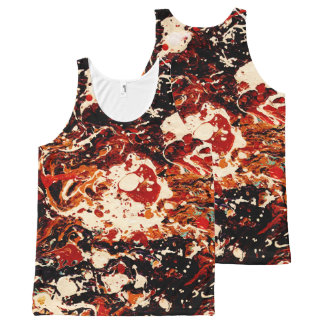 SUNSET (abstract art) ~.jpg All-Over Print Tank Top