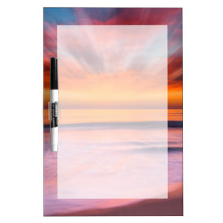 Sunset abstract from Tamarack Beach Dry Erase Whiteboard