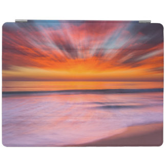 Sunset abstract from Tamarack Beach iPad Cover