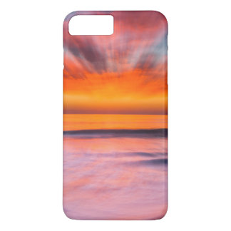 Sunset abstract from Tamarack Beach iPhone 8 Plus/7 Plus Case