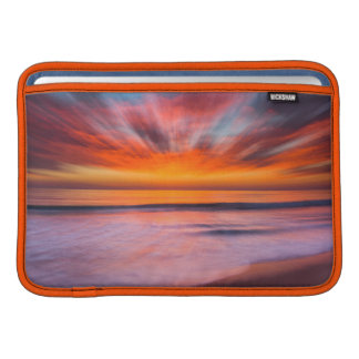 Sunset abstract from Tamarack Beach Sleeve For MacBook Air