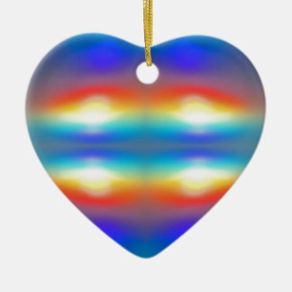 Sunset abstract  Portrait Christmas Ornament