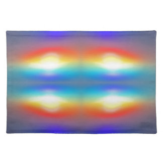 Sunset abstract  Portrait Placemat